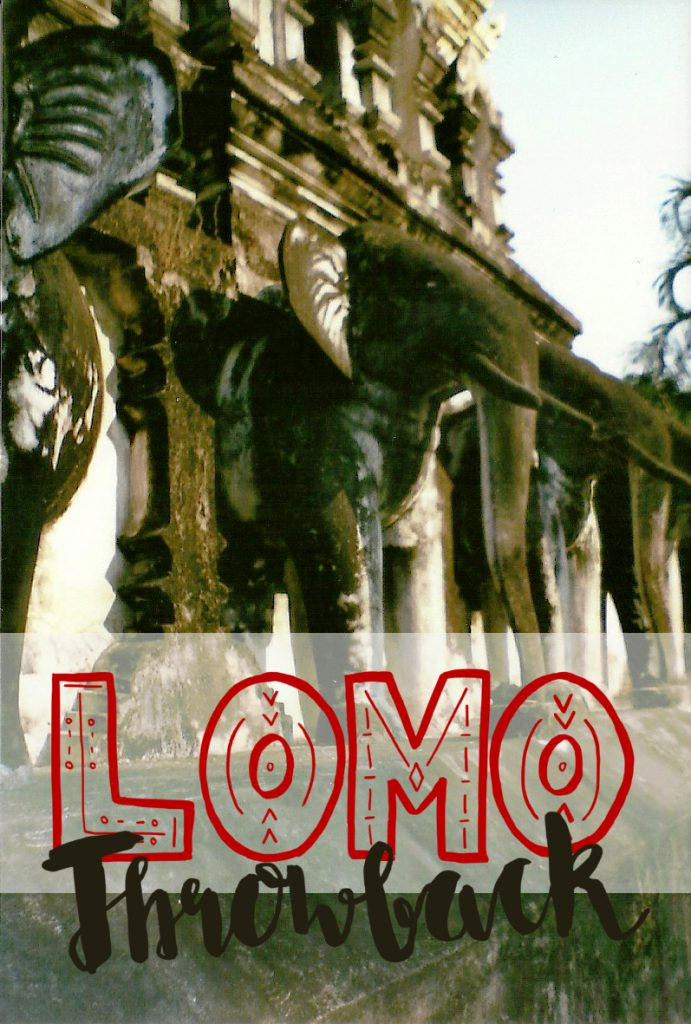 Lomo Throwback Tempel & Ruinen
