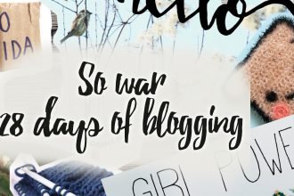 So war 28 days of blogging