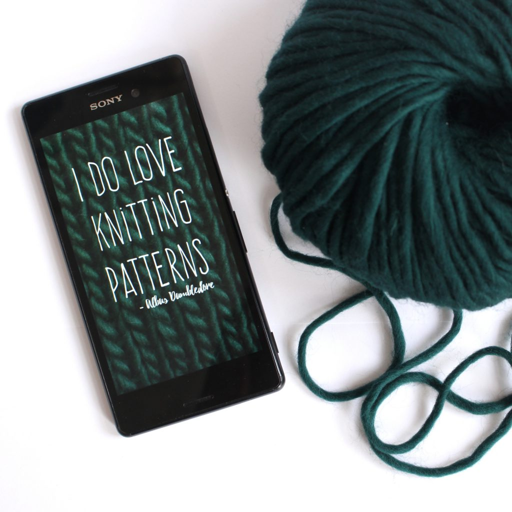 Handywallpaper: I do love knitting patterns.