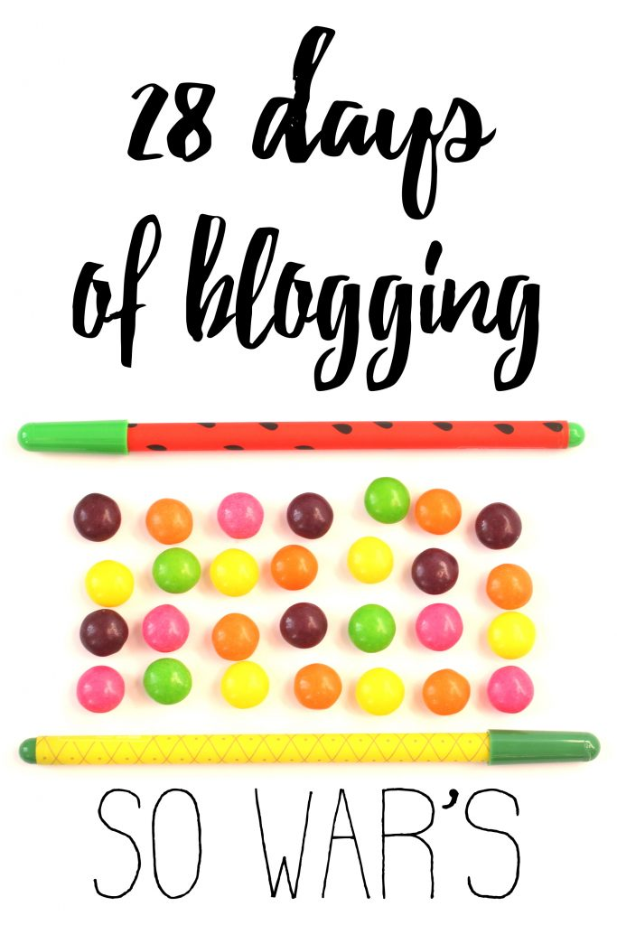 Mein 28 days of blogging rückblick