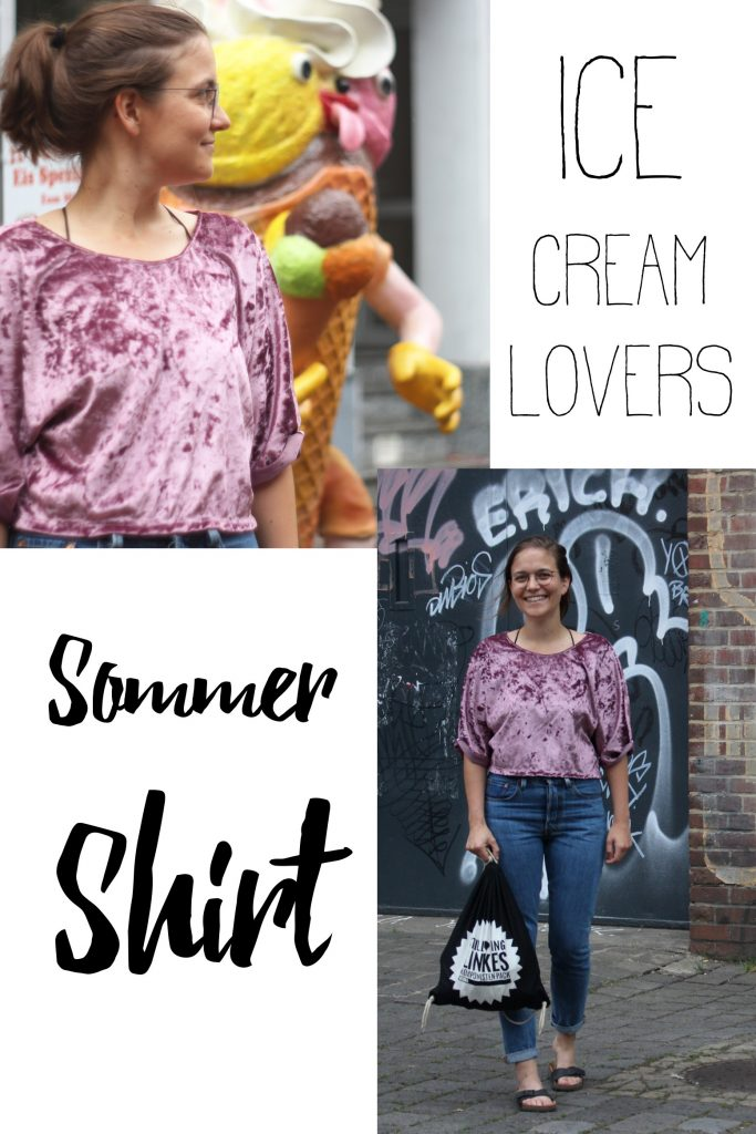 Ice Cream Lovers Sommer Shirt